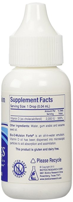 Bio-D mulsion ingredients