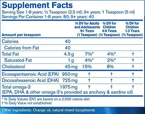 Finest Pure Fish Oil orange flavor ingredients