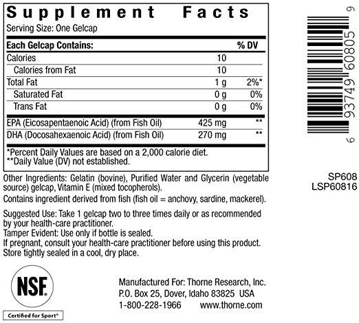 Super EPA ingredients